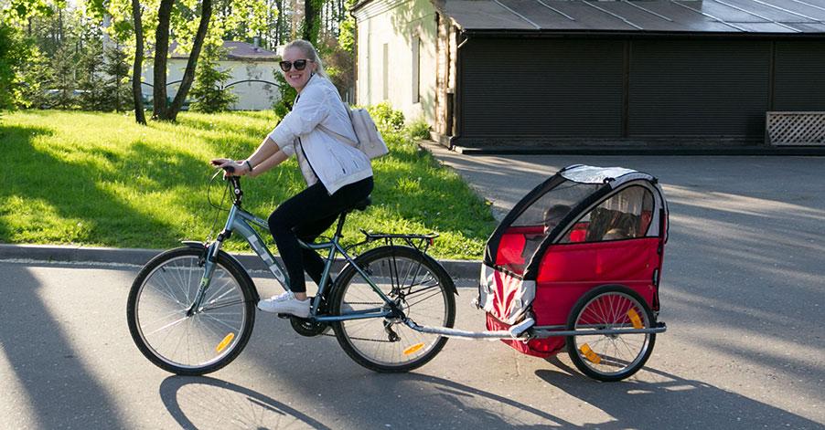 Sportvagnar för cykel och motion