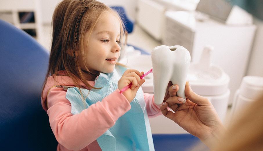 Tandvårdstips för småbarn